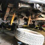 03 Ford F-250 Rear Spring & Shock Mounts