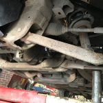 1956 Panel Truck Rear Differential & Front King Pins