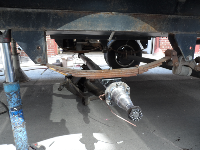 Trailer Axle Repairs in Des Moines, IA | Frame Straightening